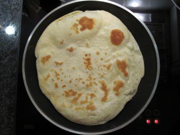 Naan-Brot Rezept -