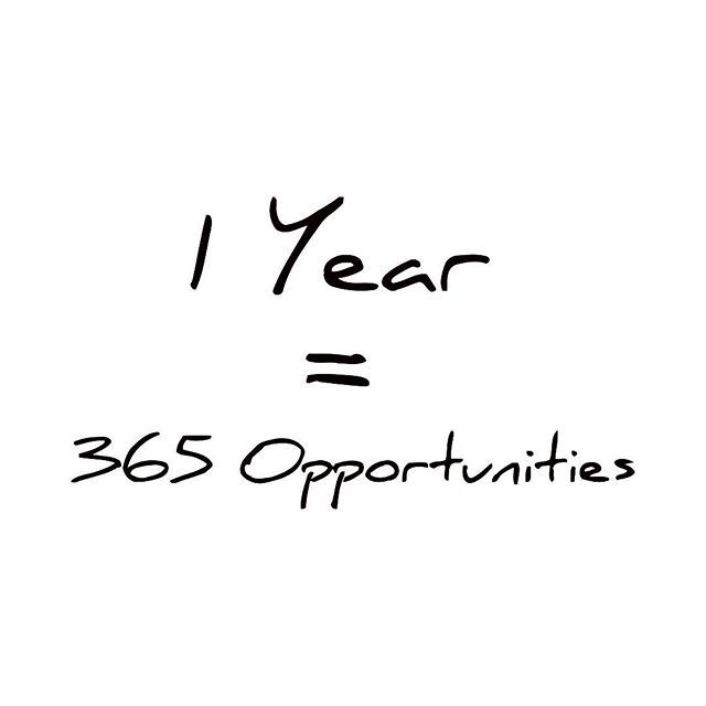 Don't give up easily, did you see that there is more opportunities awaits for you in a 1 whole year. Do it before you regret it.