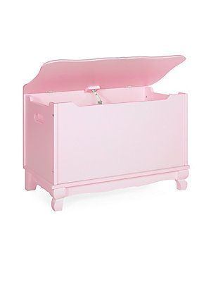 GUIDECRAFT Classic Pink Toy Box