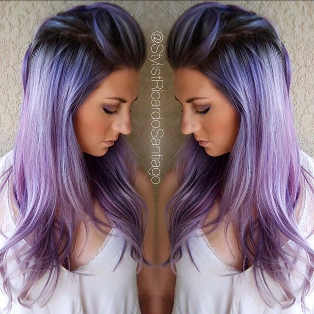 1000 Ideas About Purple Hair Colors On Pinterest  Purple Hair Hair Colors