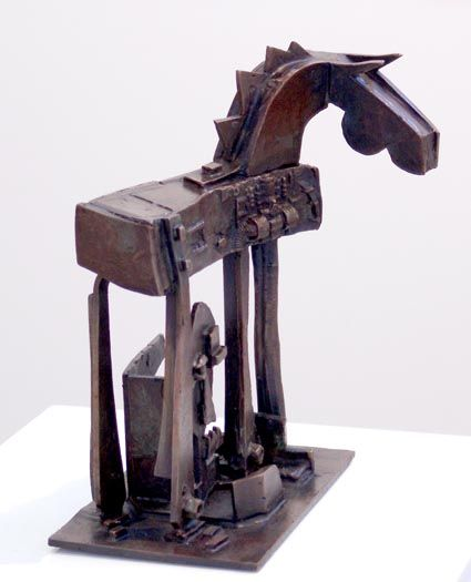"""The Colt from Old Regret"" 2004 Bronze. From the Australian legend of ""The Man From Snowy River""."