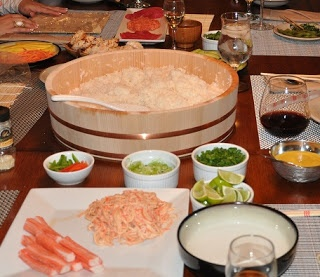Make Your Own Sushi Party!!