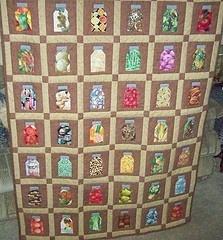 41 best jar quilts images on Pinterest | Crafts, Bookshelves and ... : jar quilts - Adamdwight.com