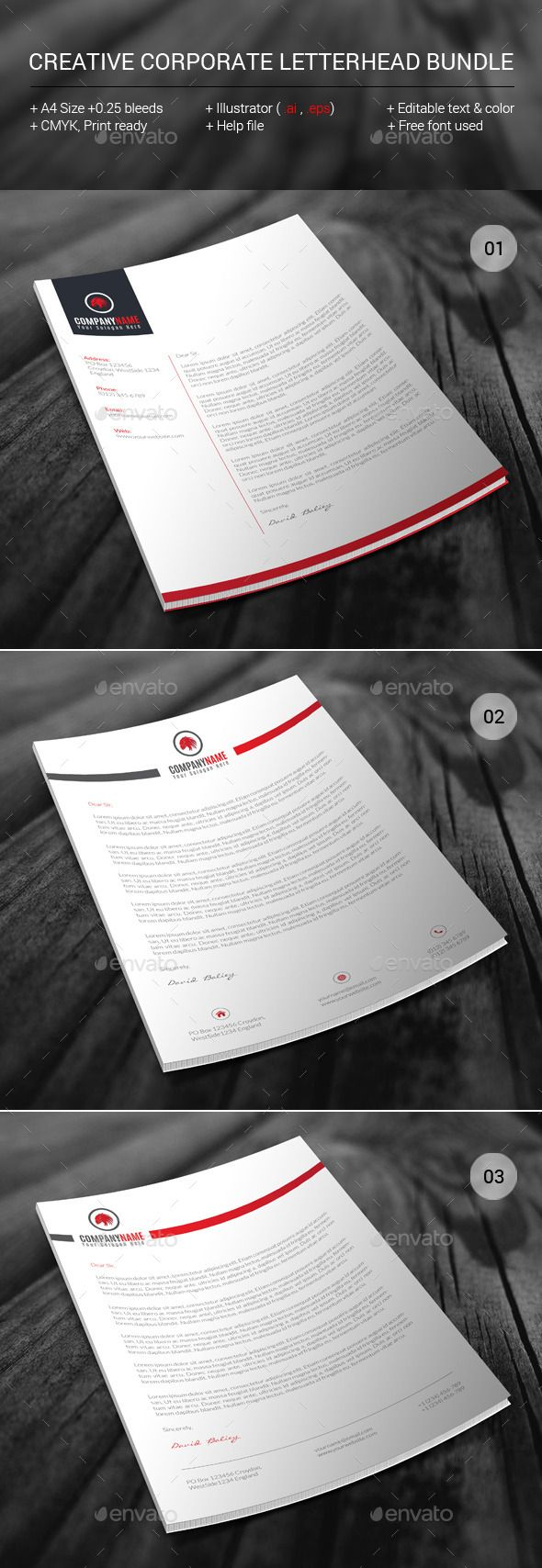 Free Printable Business Letterhead Templates 105 Best Stationary Letterheads Business Cards Envelopes Images .