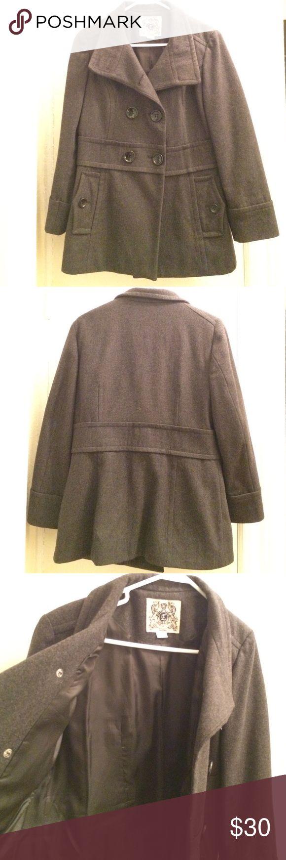 Dark grey pea coat Like new, fully lined dark grey pea coat. Perfect for fall! ESPRIT Jackets & Coats Pea Coats