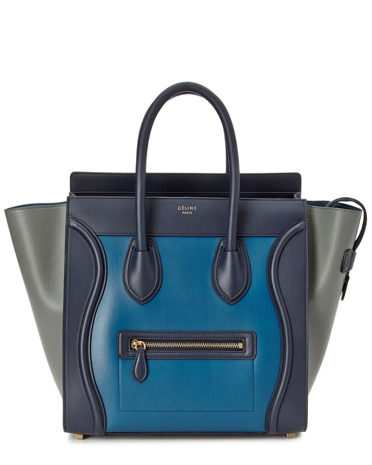 CÉLINE Mini Luggage Leather Tote is on Rue. Shop it now.