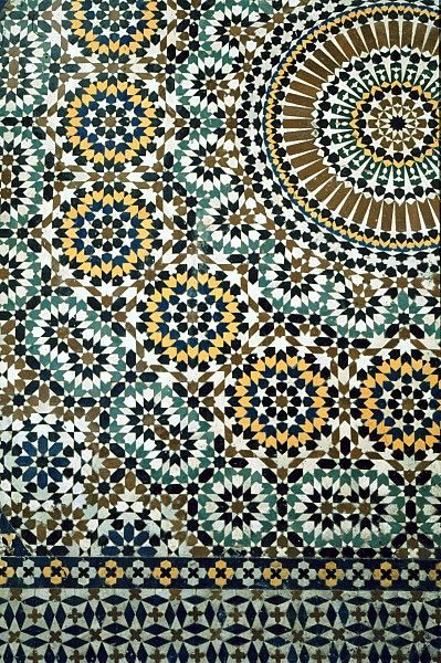 Pattern in Islamic Are   MOR 0515