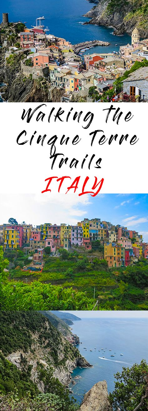 Walking the Cinque Terre trails is a must-do whilst you are fit and able. The trails provide a spectacular view of the five villages. Don't miss them. Cinque Terre Train Pass | Cinque Terre Trail Pass | Cinque Terre Trails | Cinque Terre Hiking | How long to spend in Cinque Terre