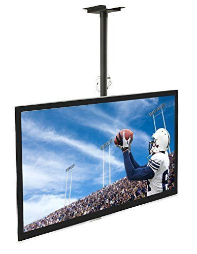 great details about tv mount ceiling lcd led bracket full plasma wall tilt  flat swivel motion black with remote control tv mount.