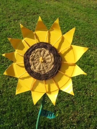 sunflower weaving
