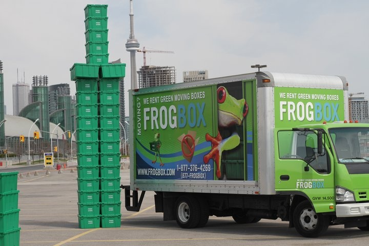 Rebuilding the Toronto skyline, one FROGBOX at a time.