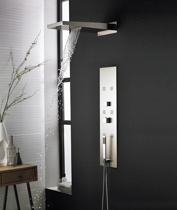 13 besten duschpaneele bilder auf pinterest duschen badezimmer und duschfliesen. Black Bedroom Furniture Sets. Home Design Ideas