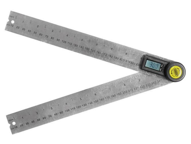 General Tools 823 Digital Angle Finder Stainless Steel 10 L Interior Exterior Angles Tools Decorating Apps