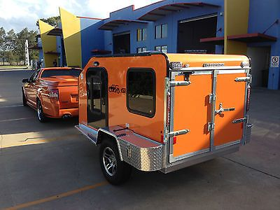 Brand-new-Cargolite-aluminium-camper-trailer-Tow-with-small-car-or-4WD