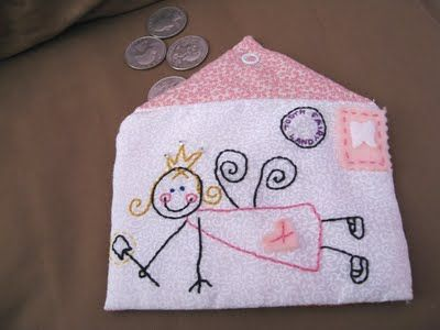 a tutorial for this AMAZING tooth fairy envelope.  If only I had the time, talent and patience.  In the meantime I'll pin it and pretend I intend to make it soon.