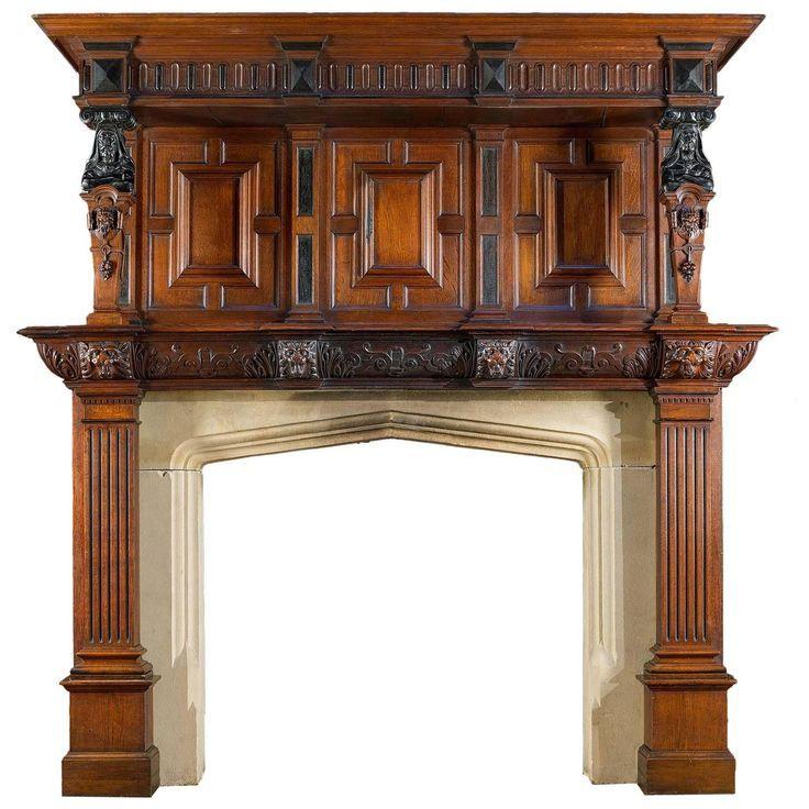 Bilderesultat for fine mantelpiece carvings