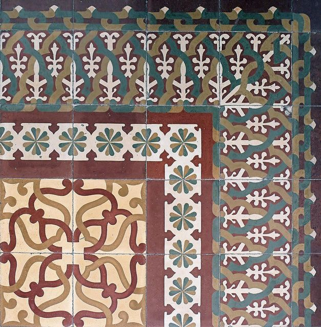 modernista flooring pattern barcelona girona s catalonia europe