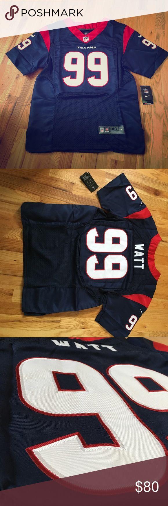 NFL Authentic JJ Watt football jersey SIZE 40 Authentic on field JJ Watt #99 Houston Texans Jersey Nike Other