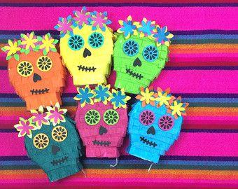 Mini décorations de Piñata pour mariages Cinco de par lulaflora