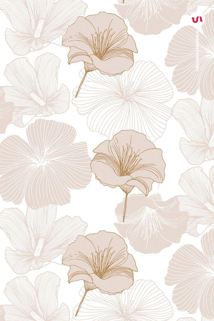 Elegant Flower Patterns in 2020 Floral background, Cute