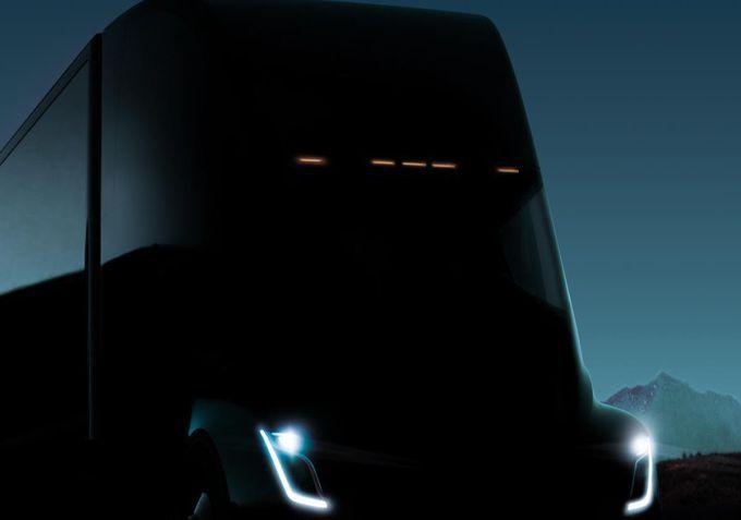 Tesla electric semi truck reveal confirmed for November 16