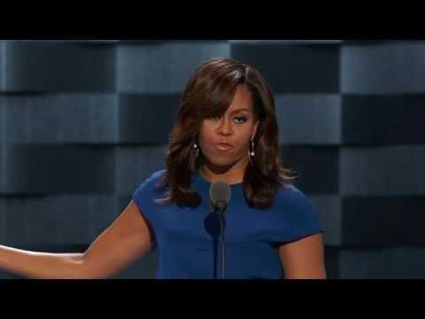 Michelle Obama Gives Powerful Speech at Democratic Convention