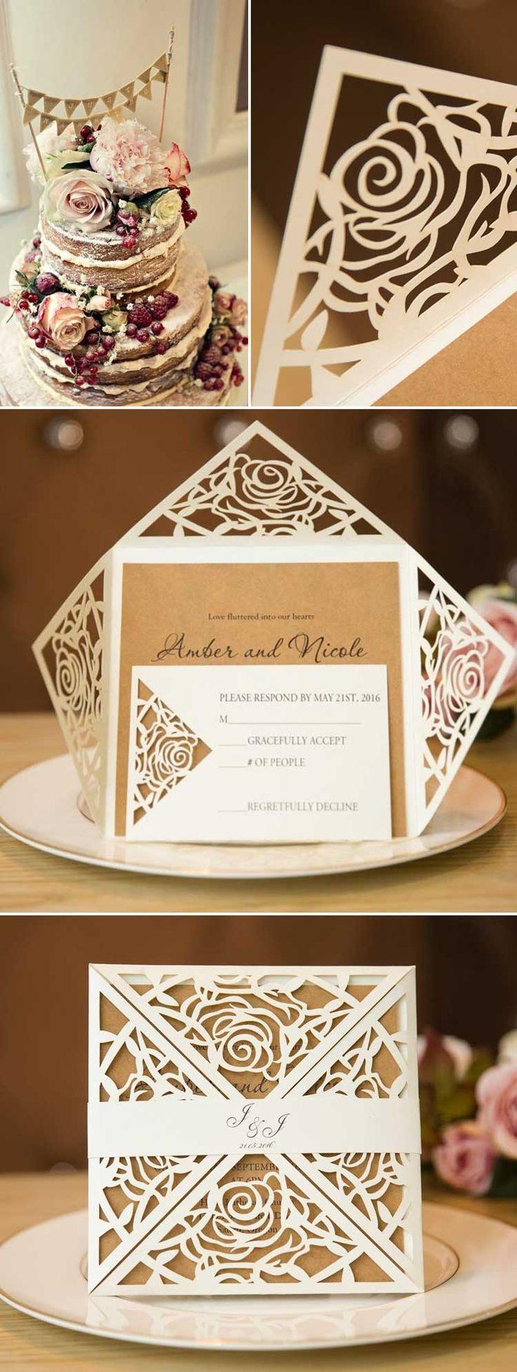 super unique laser cut wedding invitations%0A Map Usa Canada Border
