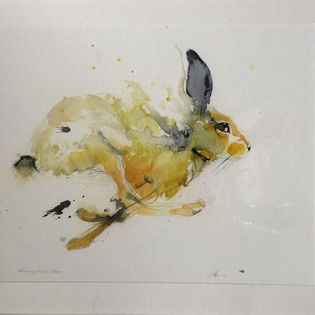 Jen Buckley Art. Limited Edition Animal Art By JenBuckleyArt