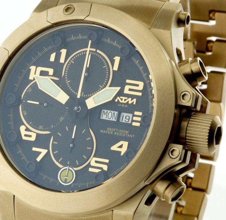 Gold Watch For Men | Gold 3-GER | MTM Special Ops Watches