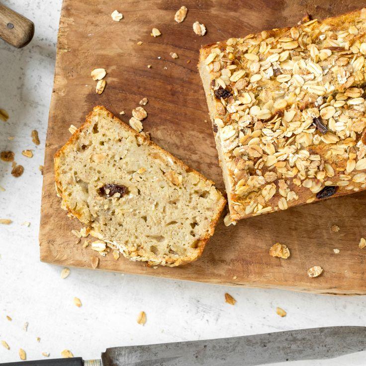 Frühstückskuchen: Banana Bread mit Bircher Müsli
