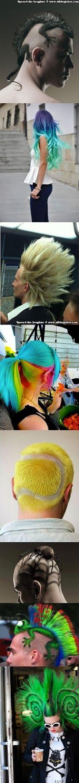 Super Creative but Funny Hairstyles