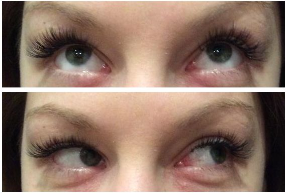 Eyelash Extensions done in salon at Capelli Hair Studio, creates volume and length to enhance the eyes!  Just Gorgeous!!!
