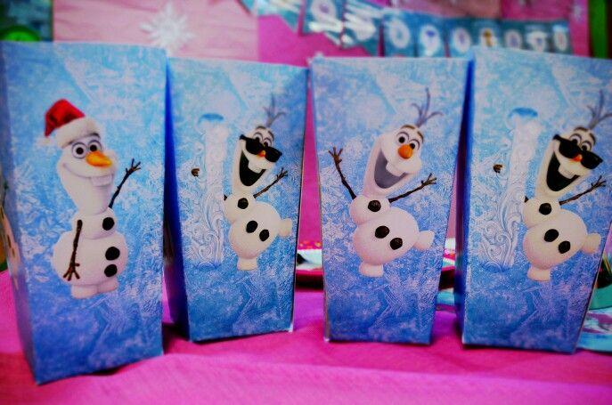 Olaf Popcorn Boxes