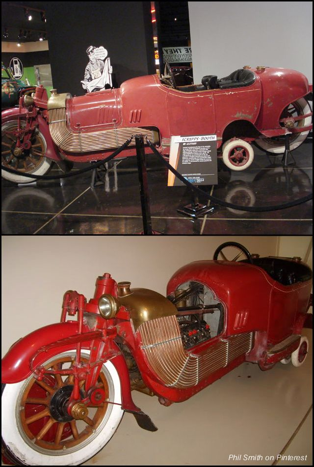 1913 Scripps Booth Bi Autogo A 3 200 Lb Motorcycle With