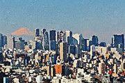 "New artwork for sale! - "" Tokyo City Aerial by PixBreak Art "" - http://ift.tt/2w4fqZD"
