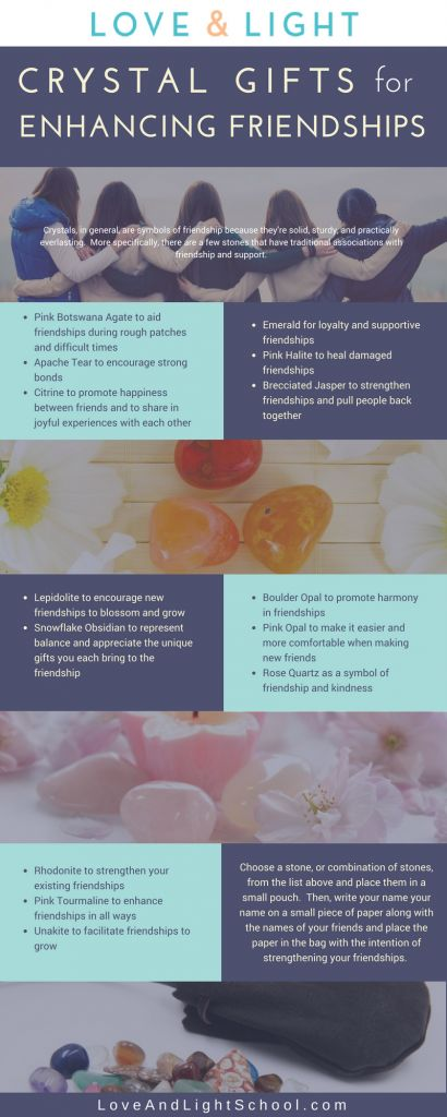 Tips and Tricks for Enhancing Friendships with Crystals - Love and Light School of Crystal Therapy