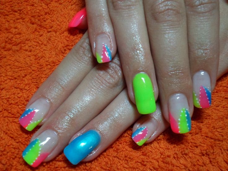 22 fabulous nail designs bright colors ledufa original bright colors lake orion accordingly inspiration article prinsesfo Image collections