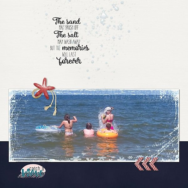 Catch a wave SEASIDE CALLS - digital scrapkit collab by ninigoesdigi and Anita Designs at The Digital Press http://shop.thedigitalpress.co/Seaside-calls-NIN-AD-05319-COLLAB.html ; free template by Loulou
