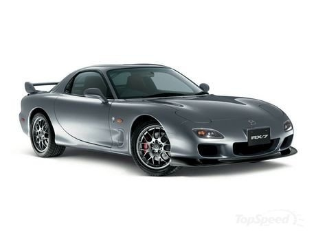Mazda RX-7. As you can tell, I will always love 90's japanese sports cars.