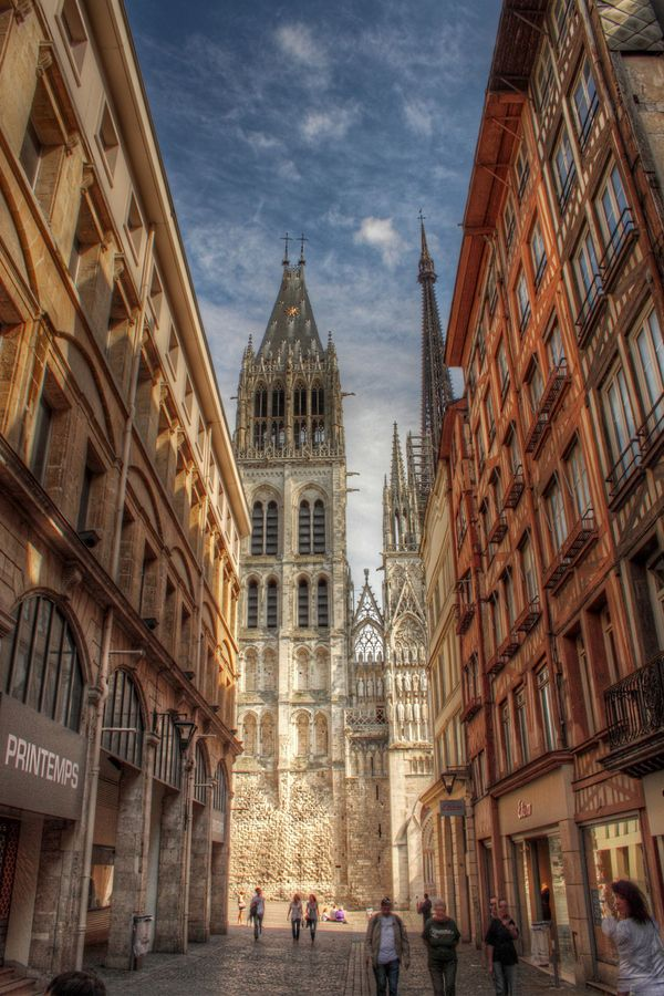Rouen seine maritime haute normandie normandy france for Haute normandie rouen