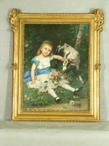 """#Operadelmese // #Febbraio// #GAMMilano #Confronti: alla GAM troviamo un altro bellissimo dipinto di Bertini: """"Il Ritratto della contessina Bice Barbiano Belgioioso"""" (1876), tela/ pittura a olio 106 x 82 cm, su donazione da parte di Barbiano Belgiojoso Bice ved. Greppi nel 1956. La tela è ora esposta all'interno della mostra """"La finestra sul cortile. Scorci di collezioni private"""" - aperta fino al 26 febbraio - nella quadreria scelta per la sala 7 del piano terra del #museo."""