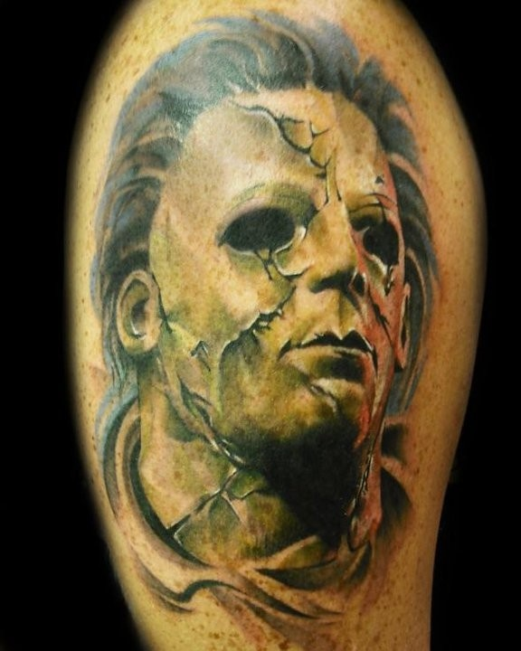 45 best images about michael myers on pinterest for Michael myers tattoo