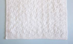 This little preemie baby blanket is so sweet and pretty -   ......a great charity knitting project              Willow Preemie Baby Bla...
