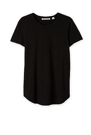 Capsule Wardrobe: Plain Black T! (Country Road: Slub Tee)