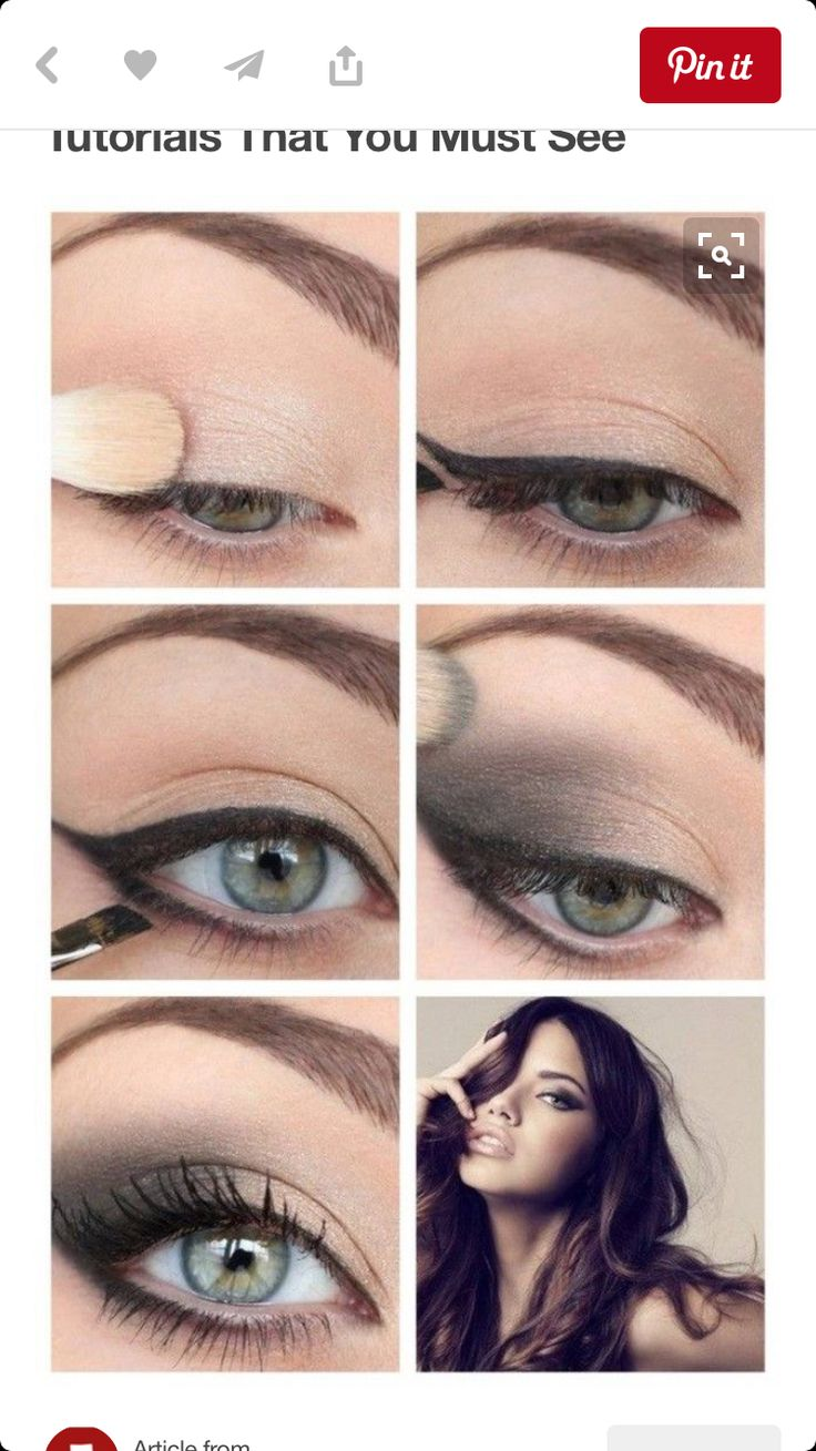 Easy Beginners Smokey Eye