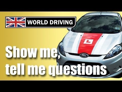 Show me, tell me questions 2015: Practical driving test questions. - YouTube