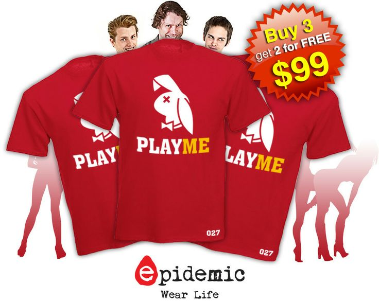 epidemic Play Me T-shirt
