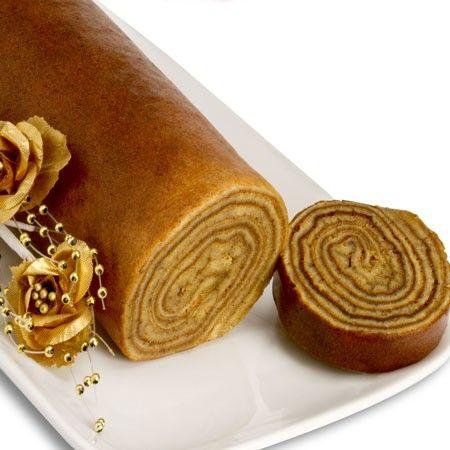 Thousand Layer Cake Roll, a unique, handmade, #gluten-free, multi-layered #cake...so pretty!