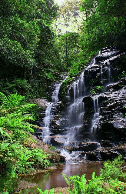 Slyvia Falls - New South Wales, Australia