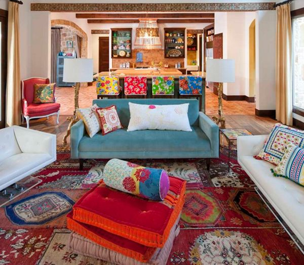20 Marvelous Mexican Living Rooms